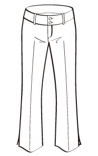 サブリナパンツ(DP-4) / Capri Pants