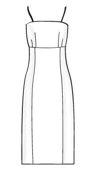 キャミソールワンピース(OP-4) / Camisole Dress
