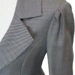 スカートスーツ グレー