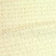 【特価品】英国製Lintonシャネルツイード高級生地|ホワイトツイード(C1631)<br />Premium English Tweed Fabric, White