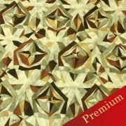 PAROLARI EMILIO PUCCIエミリオプッチ薄手サッカー生地幾何学模様ブラウン×ベージュ/Sucker Cotton100% geometry Brown×Beige