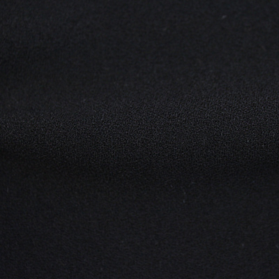 2WAYストレッチクレープ織り ブラック 黒(41133-20) 2 Way Stretch Crepe Weave Black