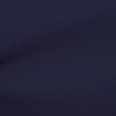 アートピケストレッチ ネービ(52104-4)Dark Navy Pique Stretch Cloth