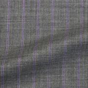 グレー太スト(5CC542)<br />Gray Fabric in Wide Stripes