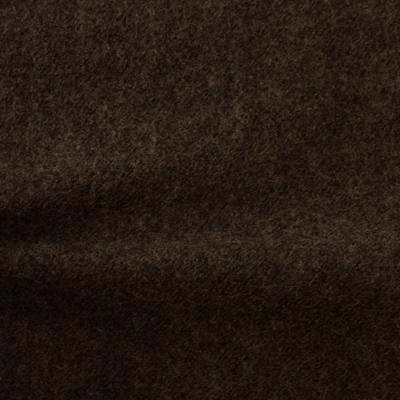 圧縮ウール ダークブラウン(76156-11)Dark Brown Worsted Serge Fabric