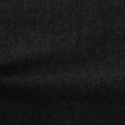 圧縮ウール ブラック(76156-7)Black Worsted Serge Fabric