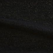 ソフトラメニット ブラックラメ入り(KKF178-5)Black Soft, Stretchy Knit with Lame