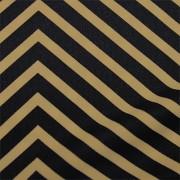 スムースストレッチニット 黒・ベージュ(KKP3399-D#158E)Black&Beige Smooth Stretch Knit, Stripes