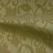 フローラル柄のストレッチ ジャカート ゴールドブラウン(KKF7312-4917-41) Stretch Jacquard Fabric, Gold Brown Floral