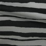 スムースストレッチニット ブラック・グレーストライプ(KKP3399-D#54GY)Black&Gray Smooth Stretch Knit, Stripes