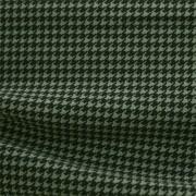 ハイテンションストレッチニット ブラック・グリーン千鳥格子柄(KKF5200-95-GY) High Tension Stretch Knit, Black and Green Houndstooth