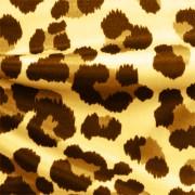 ブライトスムース ひょう柄 のストレッチ生地 ベージュ・ブラウン(KKP7272-78-A)Beige and Brown Leopard Print, Bright Smooth Stretch