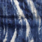 ブライトスムース 抽象柄 ブルー(KKP7272-82-B)Blue Abstract Print, Bright Smooth Stretch