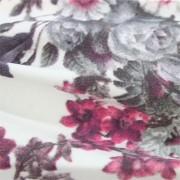 中肉ハイテンションニット多色花柄プリント (KKP5301-44-246-A)Thick High Tension Knit, multi Color Floral Print