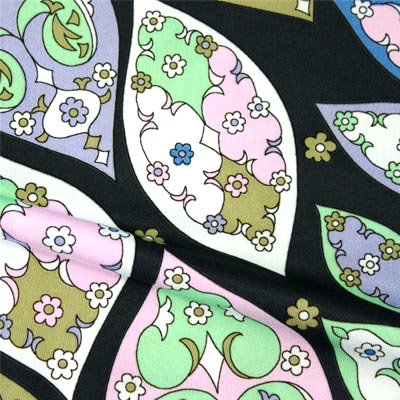 PAROLARI EMILIO PUCCI ストレッチニット パステル色のプリント(pe-92-8102) / Pastel Colors Printed Stretch Knit
