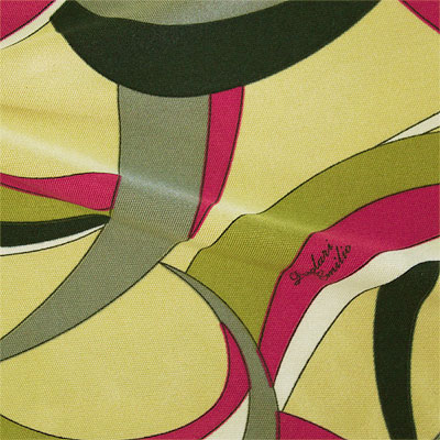 PAROLARI EMILIO PUCCI ストレッチニット ベージュプリント / Beige Printed Stretch Knit