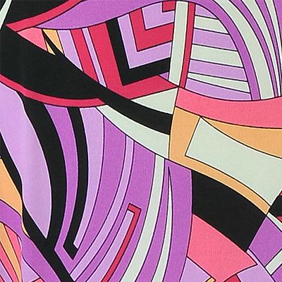 PAROLARI EMILIO PUCCI ストレッチニット パープルプリント(pe-86-8308) / Purple Printed Stretch Knit
