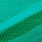 MON TRESOR エメラルドグリーン シルク混オーバルドット (9103-6)<br />Emerald Green Silk Blend Fabric Oval Dots