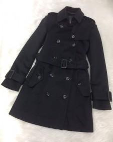 お洒落で便利!♪カシミヤを使用した柔らかなシルエットのトレンチコート<br />Fashionable and Practical♪Fancy Cashmere Trench Coat