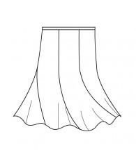 エスカルゴスカート(MC-SK-4)/Escargot Skirt