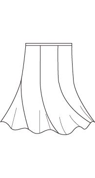 エスカルゴスカート(MC-SK-4)/ Spiral Skirt