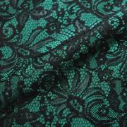 ダークグリーンレース/(kbd7068D) Dark Green Bonded Lace