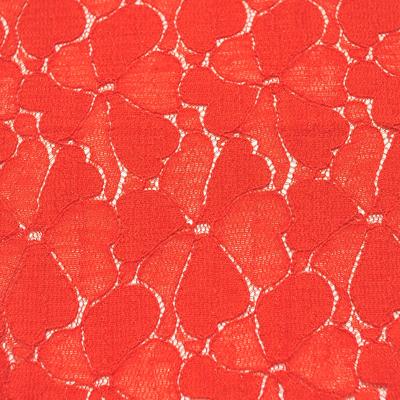 バーミリオンレース/(kkf6390) Bright Red Lace