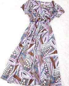春らしい色合いのプッチ柄ドールワンピース♪<br />Pucci pattern Dole dress of the springlike.