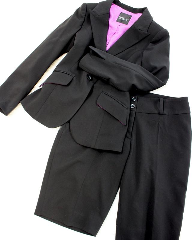お洒落なハーフパンツ仕様のスーツ♪/<br />Stylish half pants and jacket.