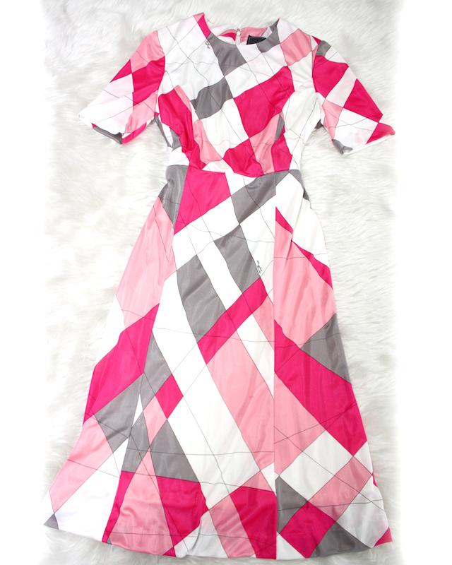 エミリオプッチの人気柄!ハーフスリーブワンピース♪/<br />A popular pattern of the Emilio Putsch! Half sleeve dress.