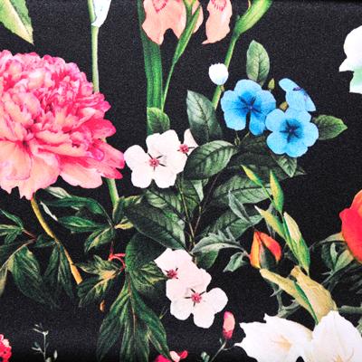 ブラック/(kdp1909rD/#D-190-c)Black Flower