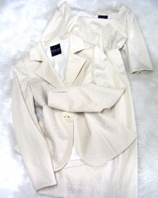 生成柄ワンピーススーツ/<br />Generation pattern dress suit