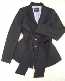 黒ラメタッセル付ジャケット/<br />Black Rametassel jacket