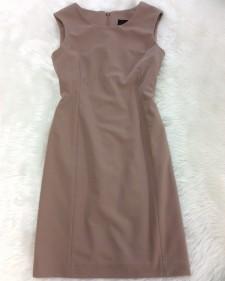 モカフレンチ袖ワンピース/<br /> Mocha french sleeve dress