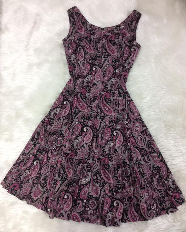 ペイズリーサーキュラーワンピース/<br />Paisley circular dress