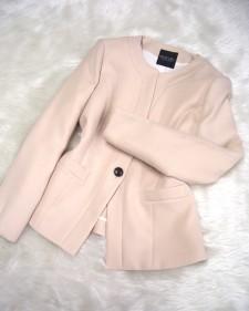 濃ベージュジャケット/<br />Dark beige jacket