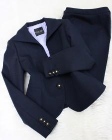 インポート紺パンツスーツ/<br />Import navy blue pants suit