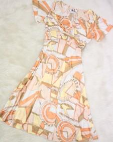 ベージュドールワンピース/<br /> Beige doll  one piece dress