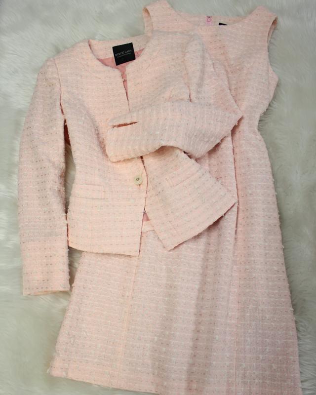 ピンクリントンワンピーススーツ/<br />Pink Lynton one piece suit